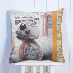 Personalised Cushion BB8 Droid