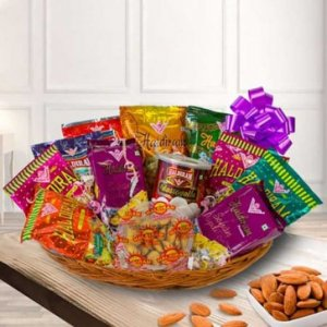 Delicious Haldirams Assortments Gifts Hamper