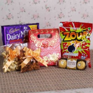 Chocolate And Dry Fruits Gift Combo