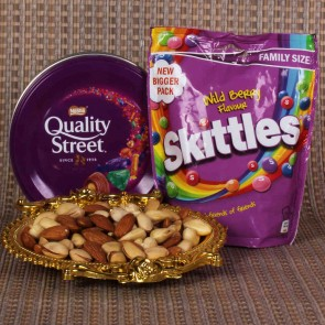 Quality And Skittles With Dryfruits