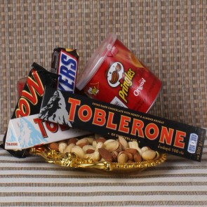 Toblerone Treat With Dry Fruit Hamper