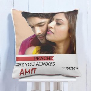 Personalised Cushion Always With You