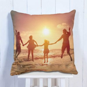 Personalised Cushion Family Photo With Memory