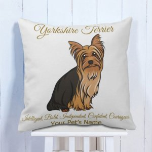 Personalised Cushion Dogs Lover