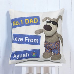 Personalised Cushion For Dad's Love