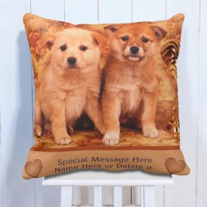 Personalised Cushion For Pet Lover