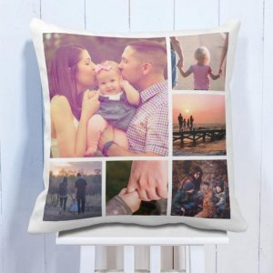 Personalised Cushion 6 Photo Special