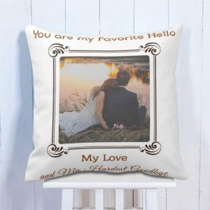 Personalised My Favourite Cushion