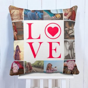 Personalised Cushion Couple Photo