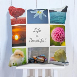 Personalised Cushion Nature Is Beautiful 8 Photo