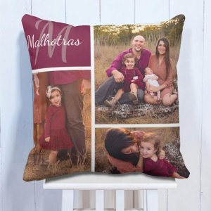 Personalised Cushion For Family