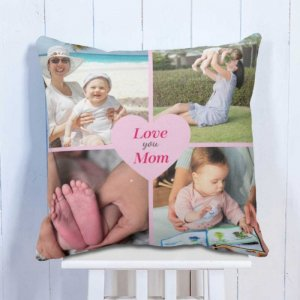 Personalised Cushion Love You Mom