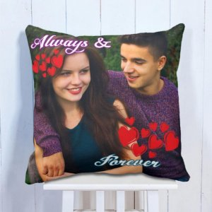 Personalised Cushion Forever Love