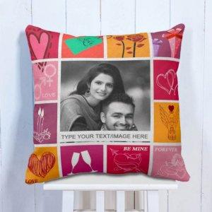 Personalised Cushion Romantic Love