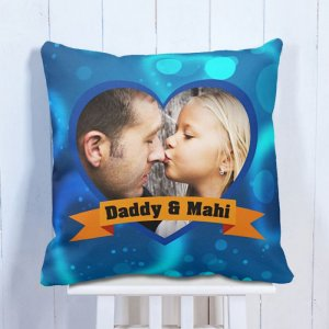 Personalised Cushion Daddy & Daughter
