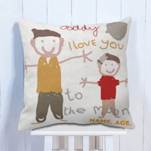 Personalised Cushion Father's Love