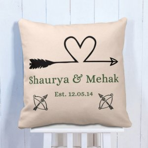 Personalised Cushion Love Forever