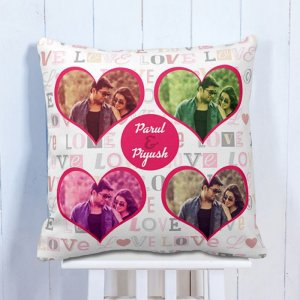 Personalised Cushion My Love In My Heart