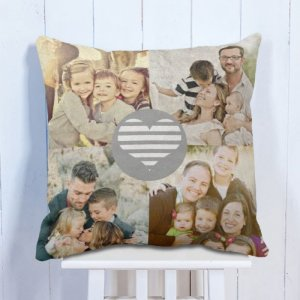 Personalised Cushion My Love Family