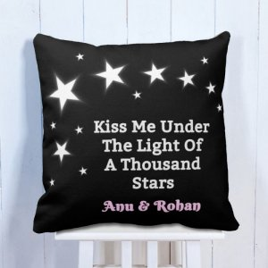 Personalised Cushion Kiss Me