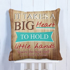 Personalised Cushion Little Hands