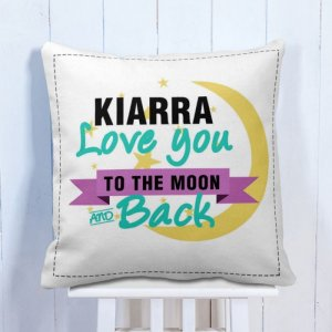Personalised Cushion Love You To The Moon