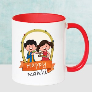 Happy Rakhi Mug