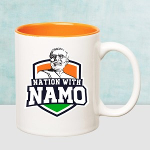 The nation with Namo Mug
