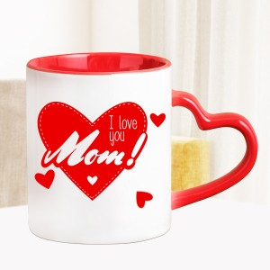 I Love You Mom Personalized Mug