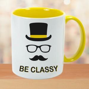 Classy Mugs Mustache