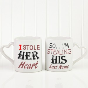 Be Mine Personalized Mug His Or Her