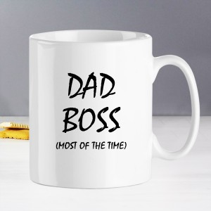Dad Is Boss Mug