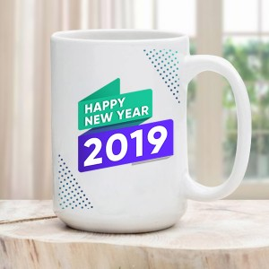 New Year Ceramic Mug