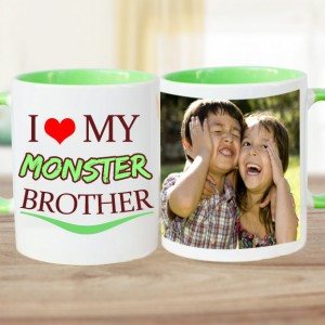 I Love My Brother Personalized Mug