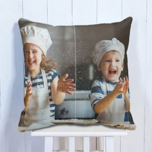 Personalised Cushion Maa & Son