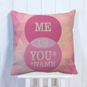 Personalised Cushion Family Name