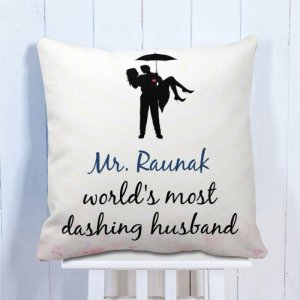 Personalised Cushion For Mr. Love