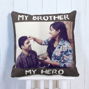Personalised Cushion My Brother Rockstar