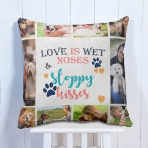 Personalised Cushion Pet Lovers