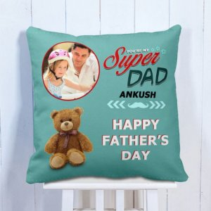 Personalised Cushion My Hero My Dad