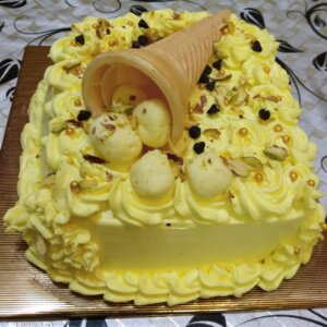 Rasmalai Chocolate Cake