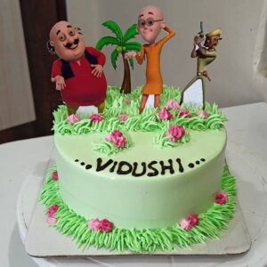 Happy Birthday Motu Cake