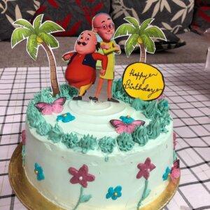 Motu Patlu Birthday Cake