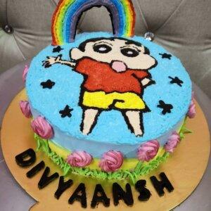 Shinchan Chocolate Cake