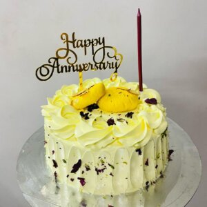 Vanilla Rasmalai Cake