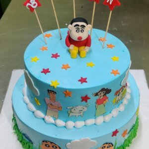 Shinchan Birthday Cake