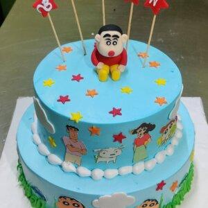 Shinchan Birthday Cake