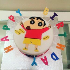 Shinchan Photo Cake