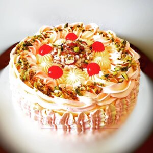 Rasmalai Fruit Cake