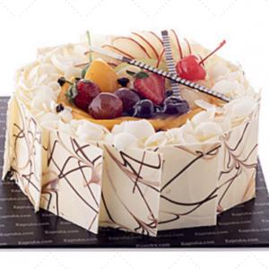 white forest cake 1 kg
